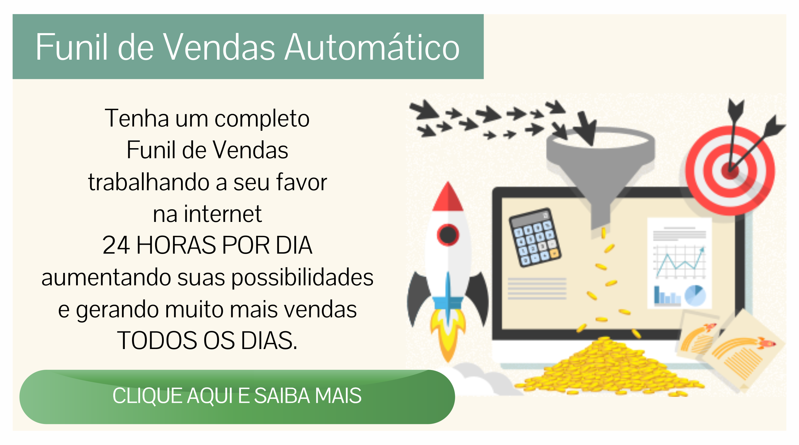 Website Inteligente Funil de Vendas Automático